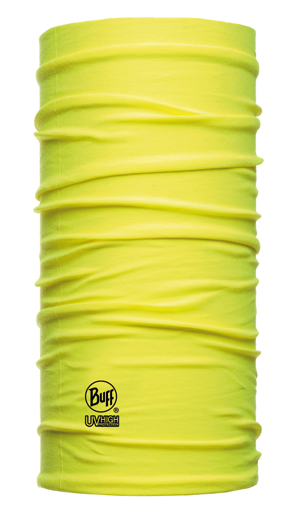 BUFF - DryCool Reflective Yellow Fluor - SUN PROTECTION · BUFF Halsedisse til industri og professionelle