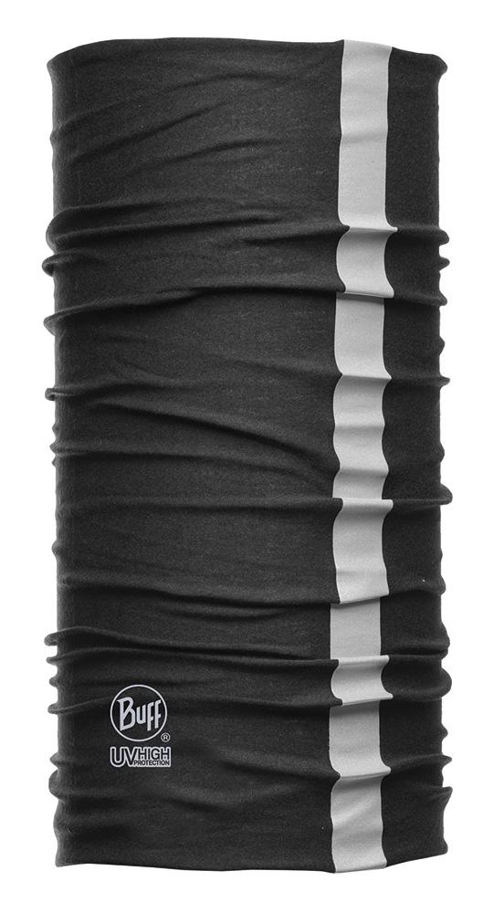 BUFF - DryCool Reflective Black - SUN PROTECTION · BUFF Halsedisse til industri og professionelle