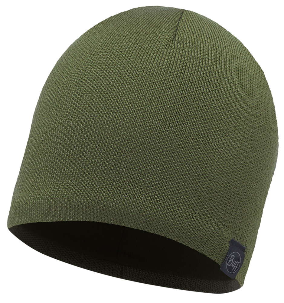 Merino Wool 1 layer hat · BUFF hue · Solid Cedar