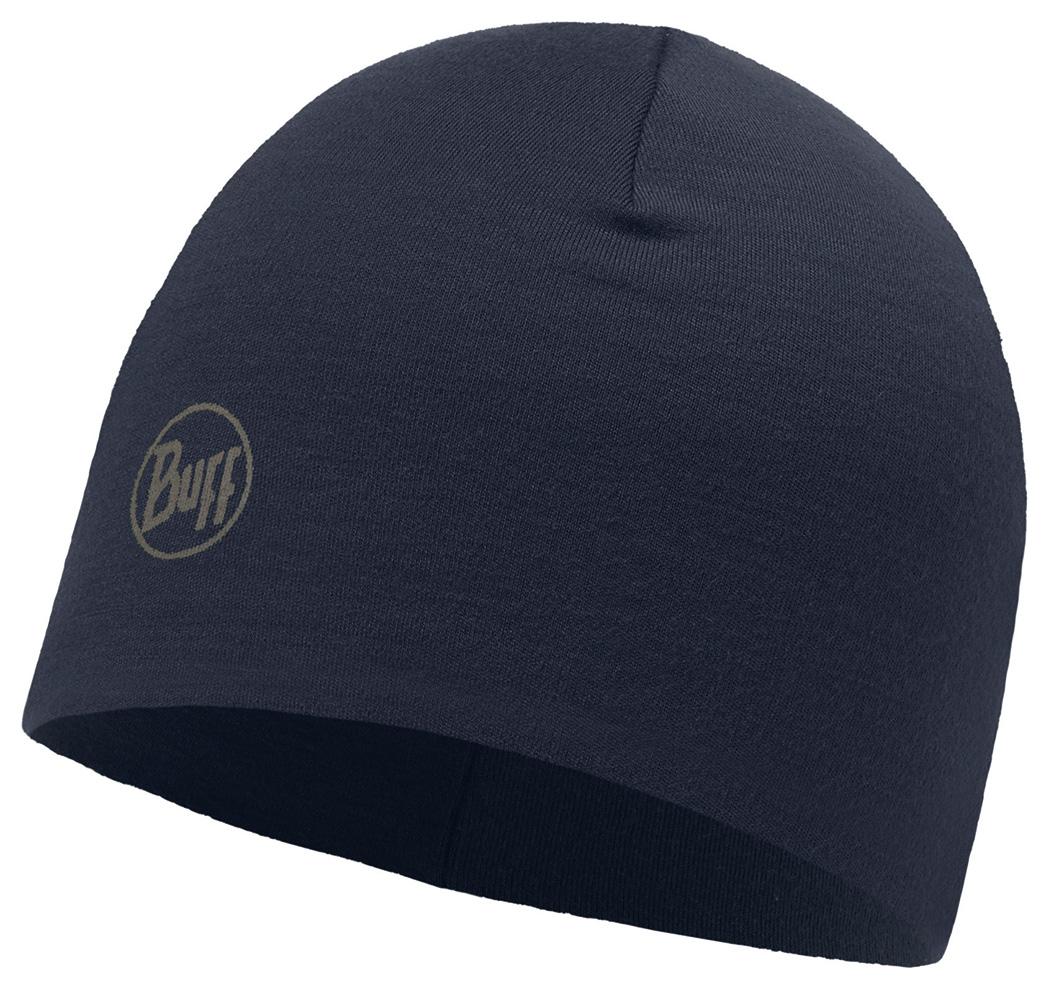 Merino Wool Thermal Hat · BUFF hue · til håndværkere · Solid Navy