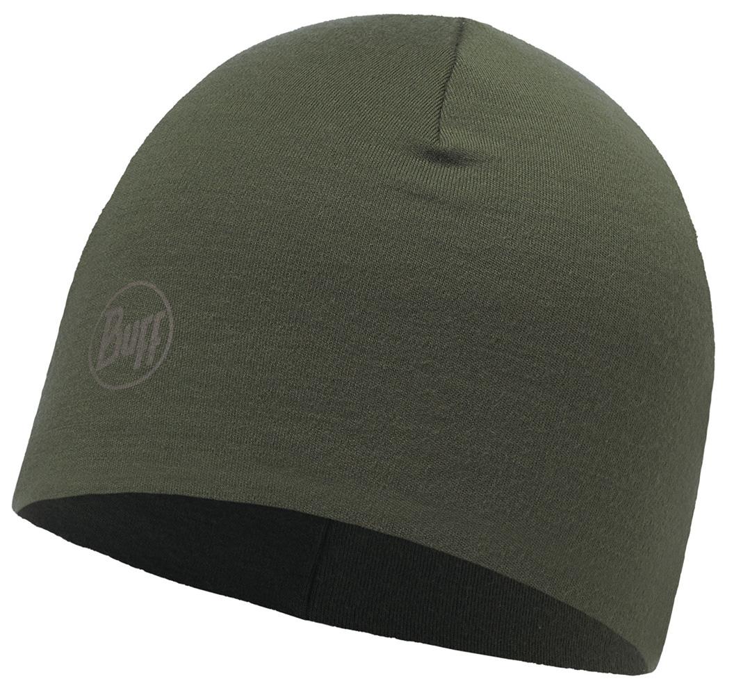 Merino Wool Thermal Hat · BUFF hue · til håndværkere · Solid Cedar