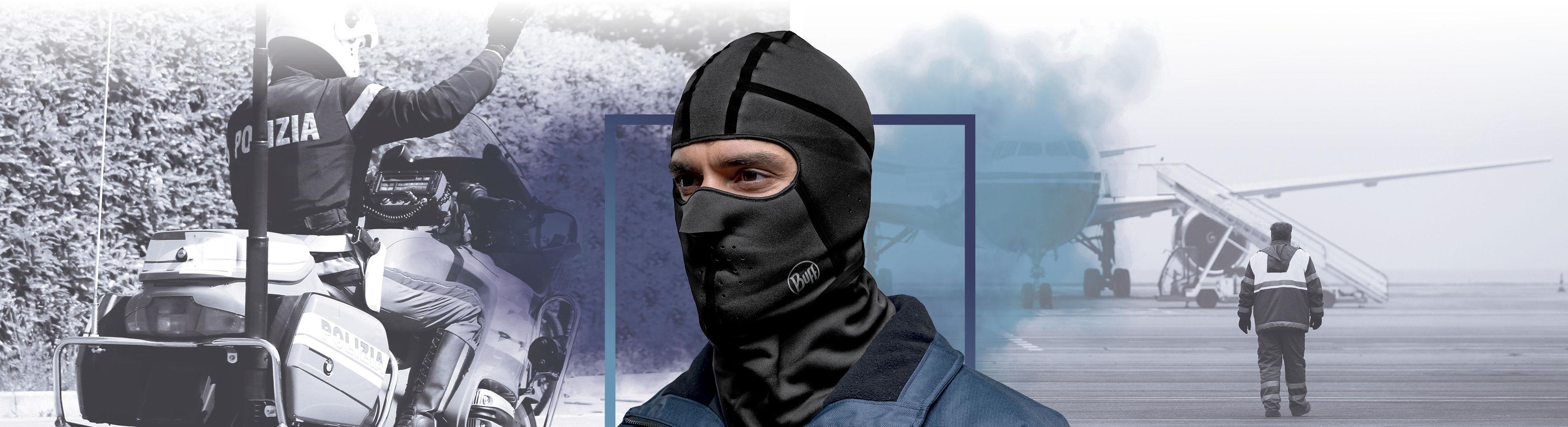 BUFF - Windproof Balaclava - Balaclava - Halsedisse - Halsrør - halsbeklædning til industri og professionelle