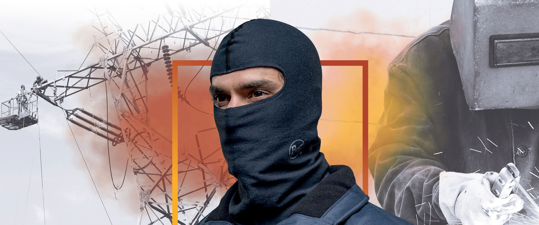 BUFF - Arcprotect + FR Balaclava - Balaclava - Halsedisse - Halsrør - halsbeklædning