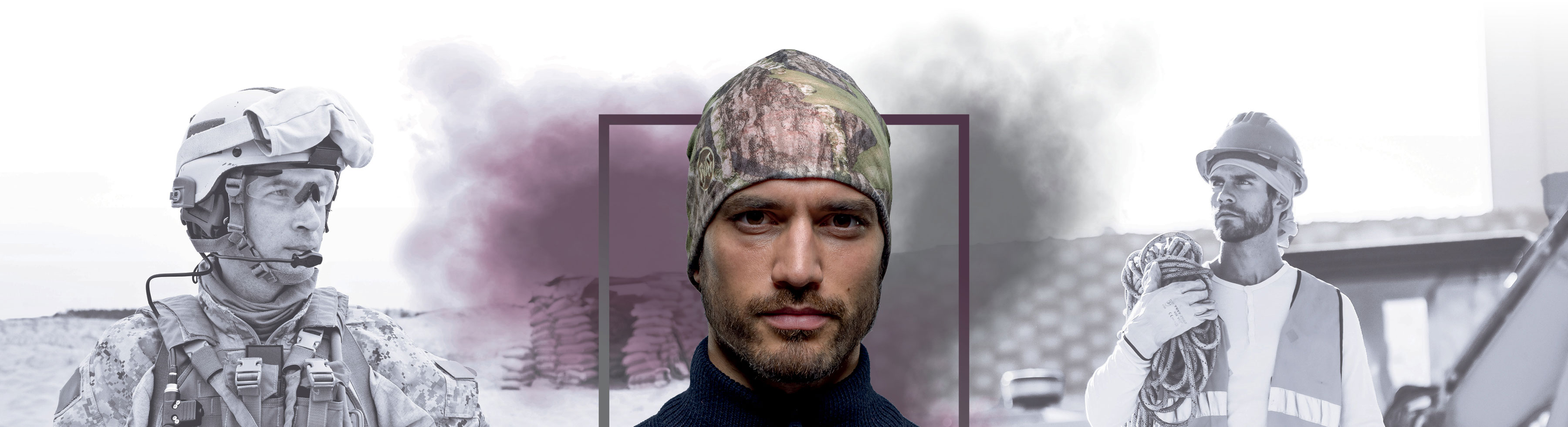 BUFF - Thermal Reversible Hat - Hovedbeklædning - kasket - hat