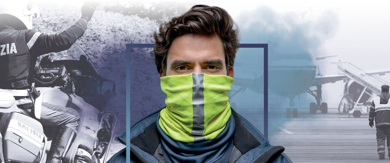 BUFF - Wind Proof - Halsedisse - Halsrør - halsbeklædning til industri og professionelle