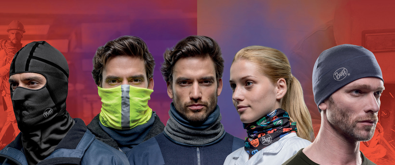 BUFF - Halsdisse - halsrør - huer til industri og professionelle